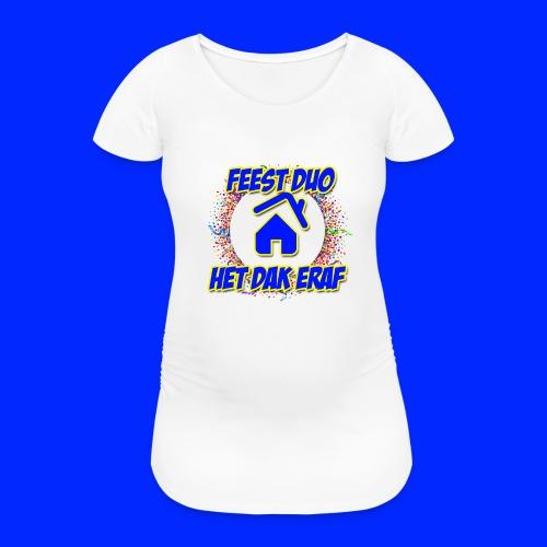 Feest Duo Hoesjes - Vrouwen zwangerschap-T-shirt