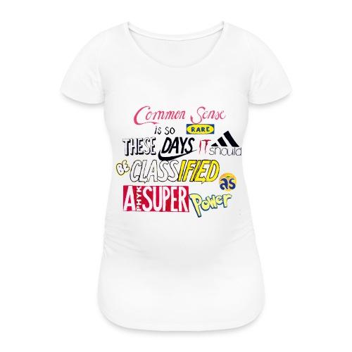 PHYK-logoja - Naisten äitiys-t-paita
