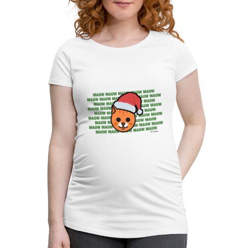 mauw - Vrouwen zwangerschap-T-shirt