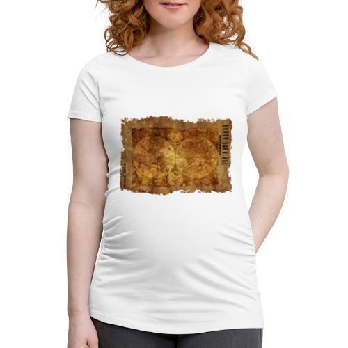 map of the world 2241469 1920 - Frauen Schwangerschafts-T-Shirt