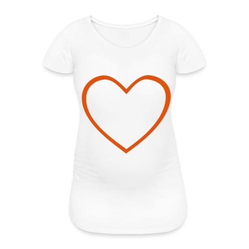 Hjärta 4 - Gravid-T-shirt dam
