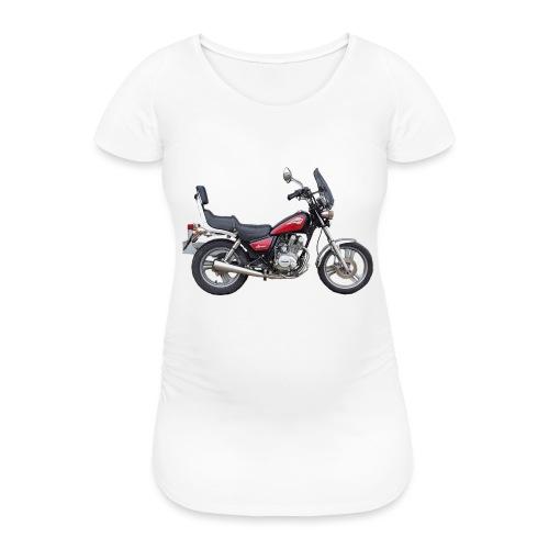 snm daelim vc 125 f advace seite rechts ohne - Frauen Schwangerschafts-T-Shirt