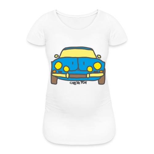 Voiture ancienne mythique française - T-shirt de grossesse Femme