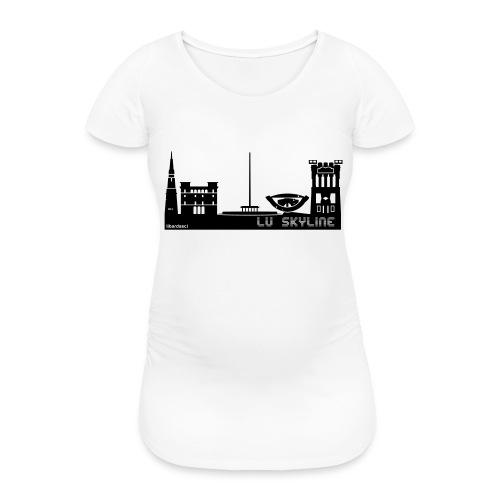 Lu skyline de Terni - Maglietta gravidanza da donna