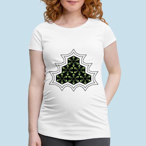 Stern - Frauen Schwangerschafts-T-Shirt
