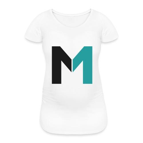 Logo M - Frauen Schwangerschafts-T-Shirt