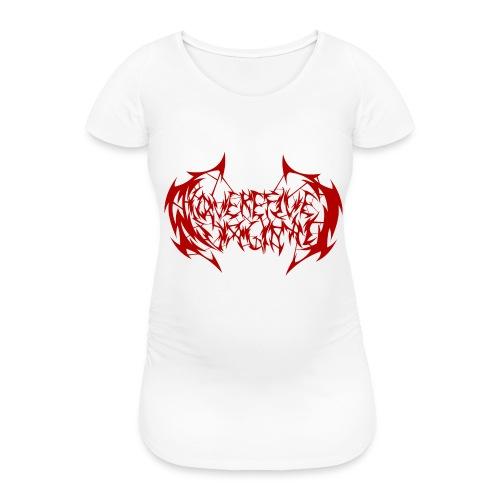 ARV Logo rosso - Maglietta gravidanza da donna