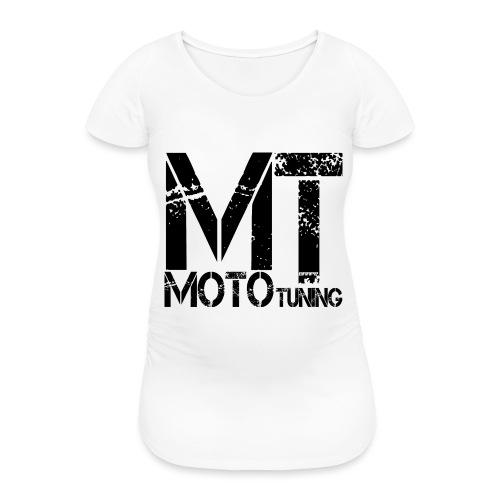 MotoTuning Logo - Women's Pregnancy T-Shirt