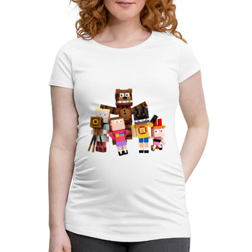 Withered Bonnie Productions - Meet The Gang - Women's Pregnancy T-Shirt