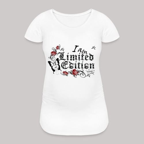 simply wild limited Edition on white - Frauen Schwangerschafts-T-Shirt