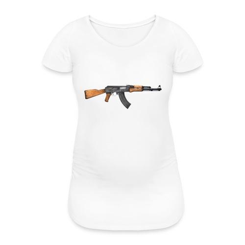 AK 47 - Vrouwen zwangerschap-T-shirt