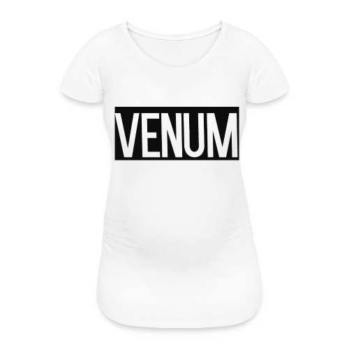 VENUM ORIGINAL WHITE EDITION. - Women's Pregnancy T-Shirt