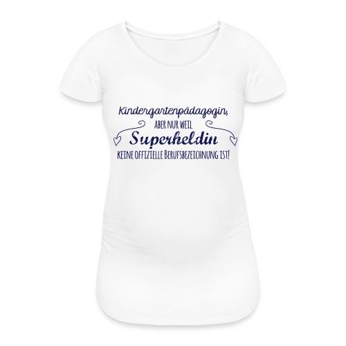 Stoffbeutel: Kindergartenpädagogin - Frauen Schwangerschafts-T-Shirt