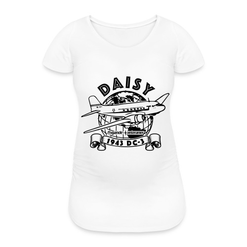 Daisy Globetrotter 1 - Gravid-T-shirt dam