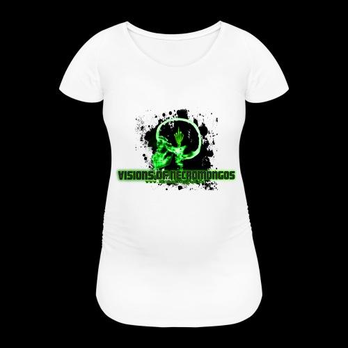 VISIONS OF NECROMONGOS - Frauen Schwangerschafts-T-Shirt