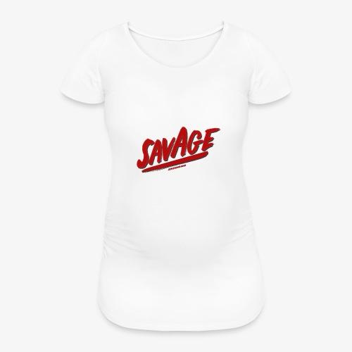 savagjonssongang - Gravid-T-shirt dam