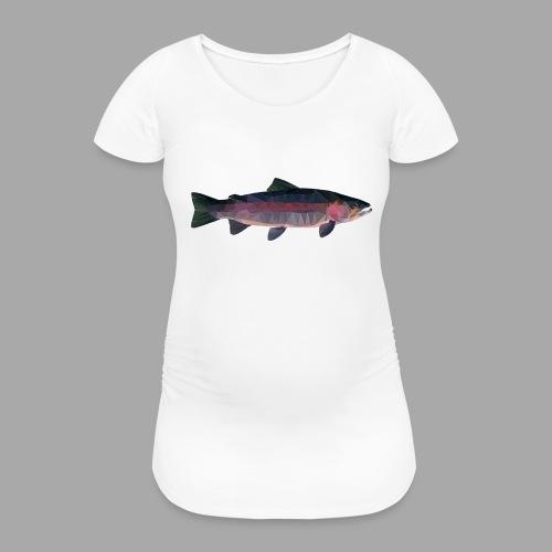 Trout - Naisten äitiys-t-paita