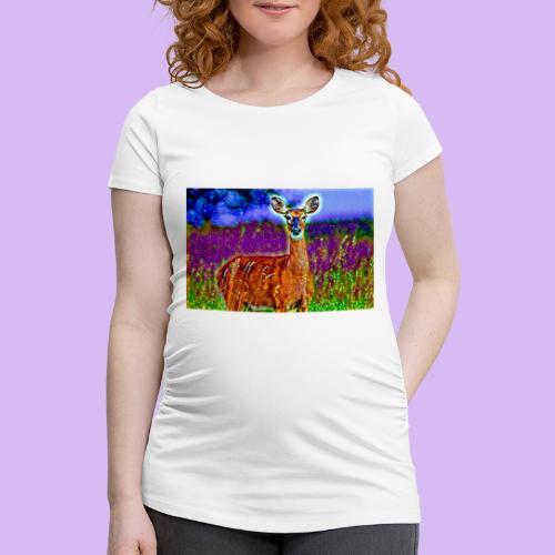 Cerbiatto con magici effetti - Maglietta gravidanza da donna