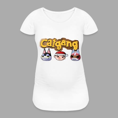 Animal Crossing CatGang - Frauen Schwangerschafts-T-Shirt