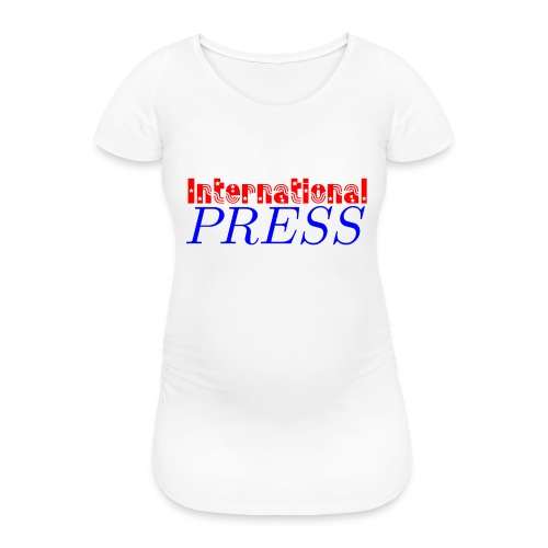 int_press-png - Maglietta gravidanza da donna
