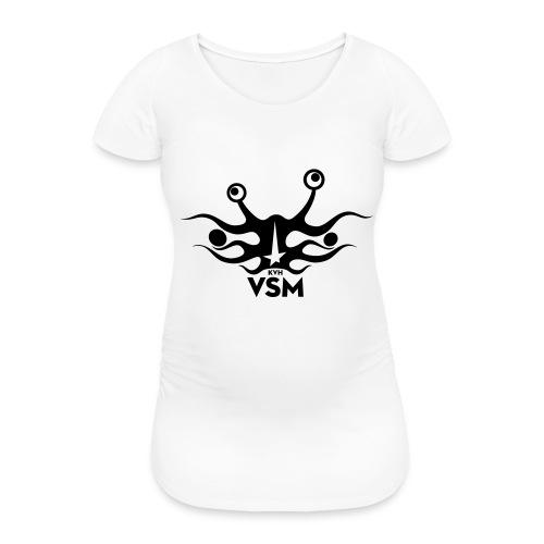 Kerk van het Vliegend Spaghettimonster - Vrouwen zwangerschap-T-shirt