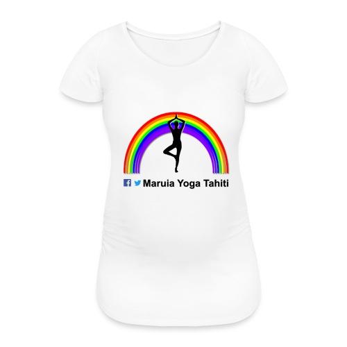Logo de Maruia Yoga Tahiti - T-shirt de grossesse Femme