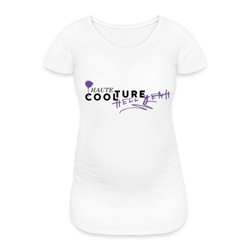 HAUTE COOLTURE - Frauen Schwangerschafts-T-Shirt
