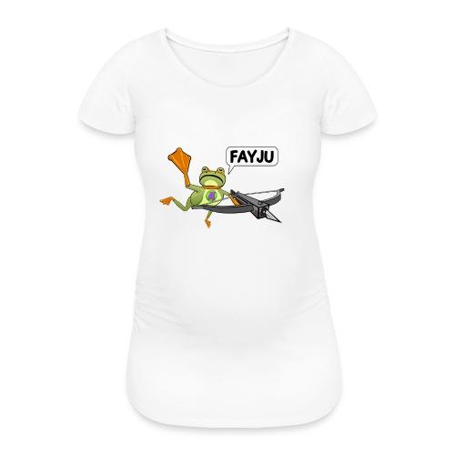 Amazing Frog Crossbow - Women's Pregnancy T-Shirt