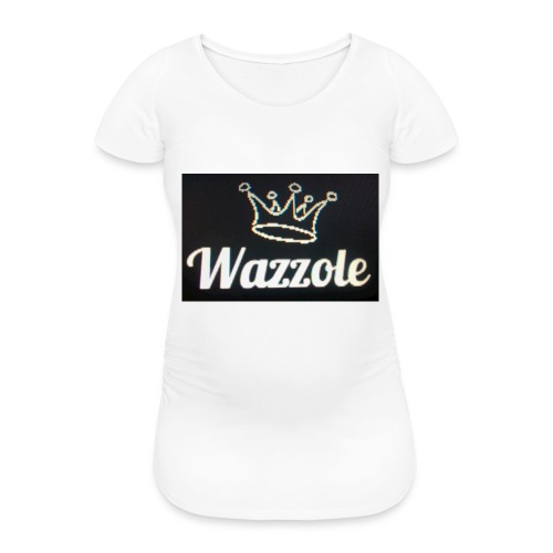 Wazzole crown range - Women's Pregnancy T-Shirt