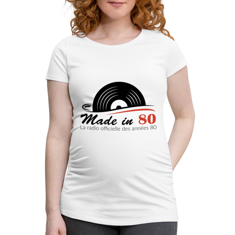 Made in 80 - T-shirt de grossesse Femme