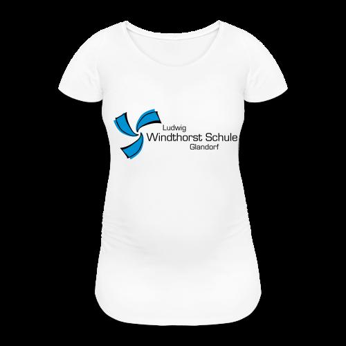 LWS Namenszug - Frauen Schwangerschafts-T-Shirt