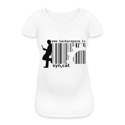 syn2cat hackerspace - Women's Pregnancy T-Shirt
