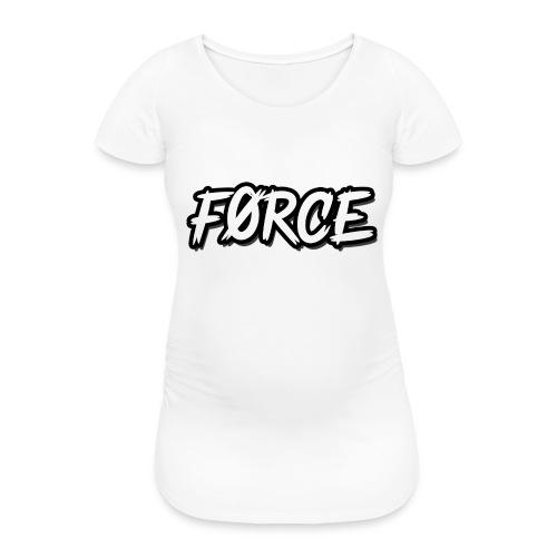 K - Vrouwen zwangerschap-T-shirt
