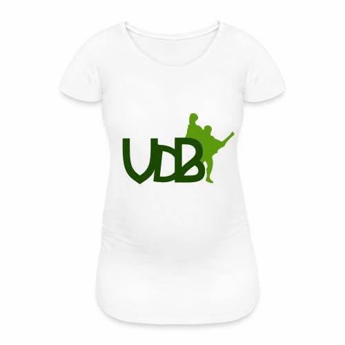 VdB green - Maglietta gravidanza da donna