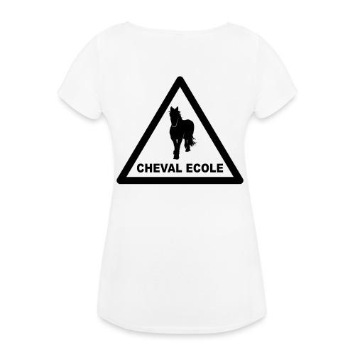 chevalecoletshirt - T-shirt de grossesse Femme