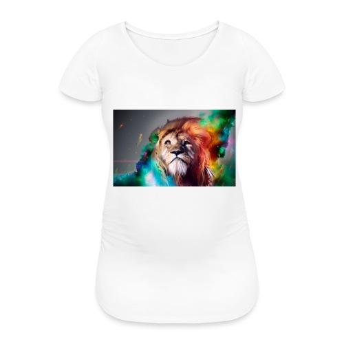 hero lion - T-shirt de grossesse Femme