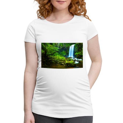 Quayambaya Sportswear - Frauen Schwangerschafts-T-Shirt