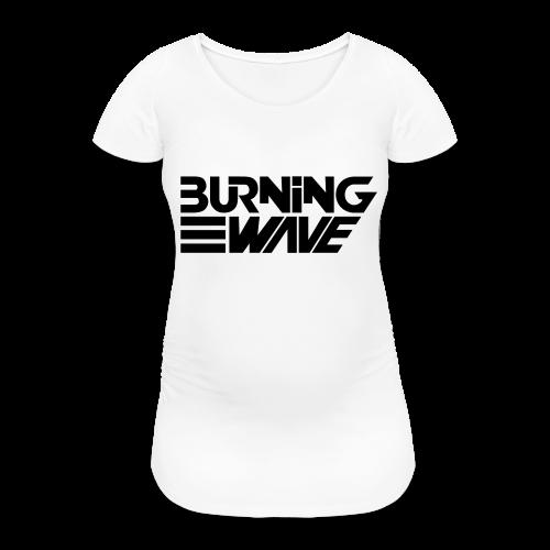 Burning Wave Block - T-shirt de grossesse Femme