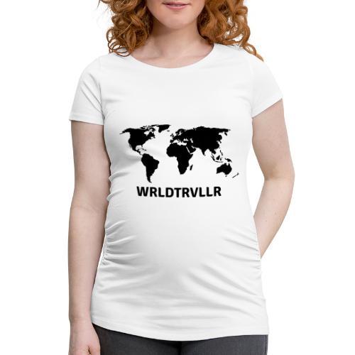 Worldtraveller - Frauen Schwangerschafts-T-Shirt