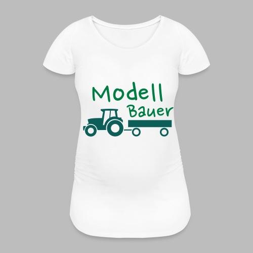 Modellbauer - Modell Bauer - Frauen Schwangerschafts-T-Shirt