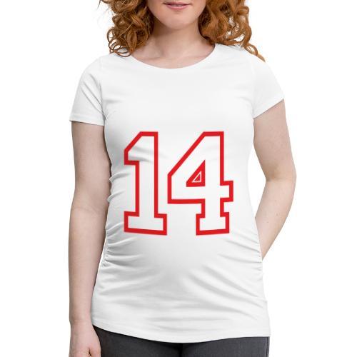 DANNIEB 14 - Maglietta gravidanza da donna