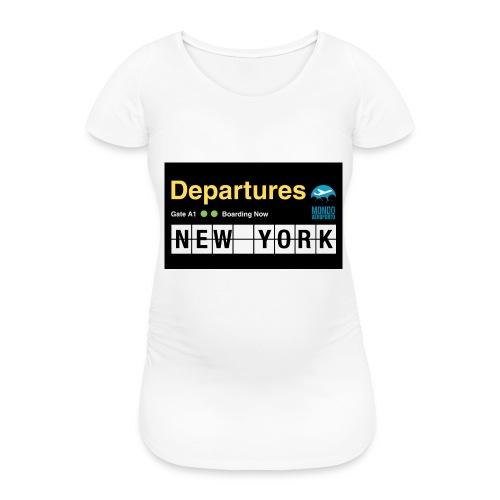 Departures Defnobarre 1 png - Maglietta gravidanza da donna