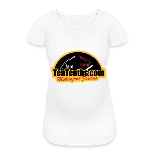3Colour_Logo - Women's Pregnancy T-Shirt