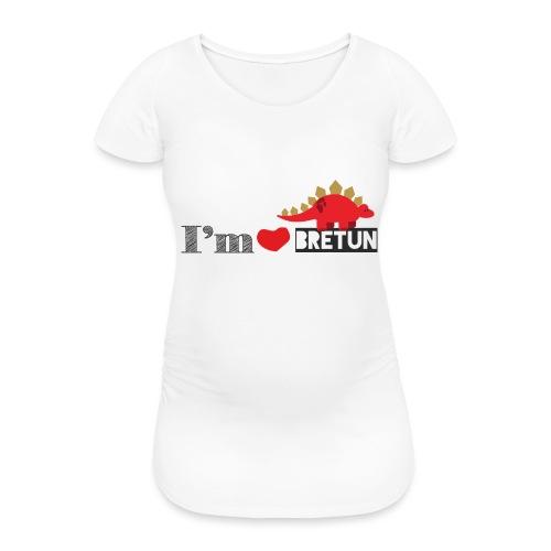 bretun negro - Camiseta premamá
