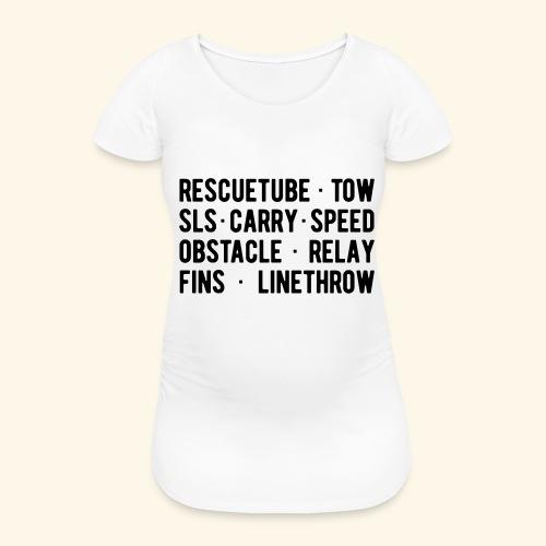 Tee shirt RESCUE ... THROW - T-shirt de grossesse Femme