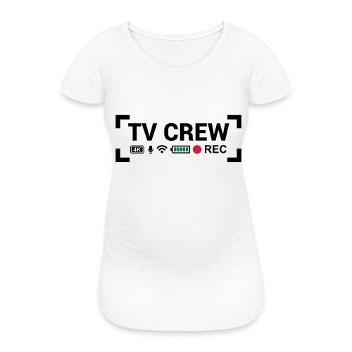 TV Crew - Maglietta gravidanza da donna
