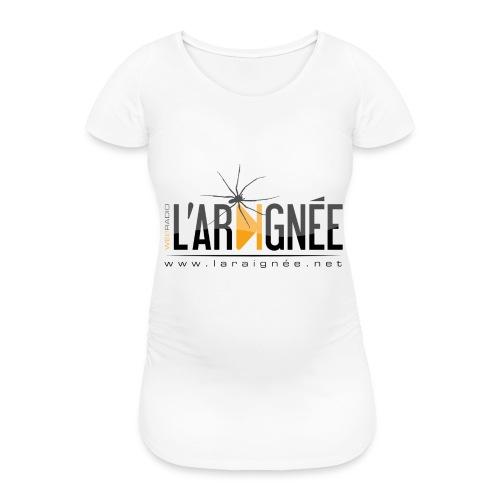 L'ARAIGNÉE, logo noir - T-shirt de grossesse Femme