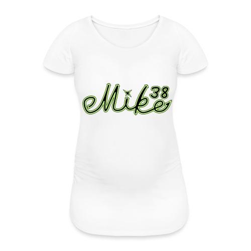 mike38teksti - Naisten äitiys-t-paita