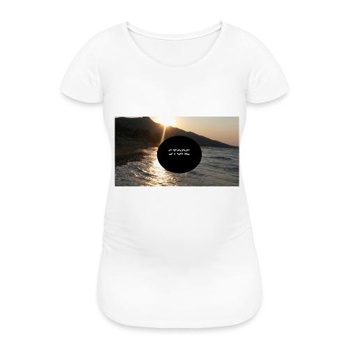 Mousepad - Frauen Schwangerschafts-T-Shirt