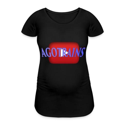 AGOTRAINS - Maglietta gravidanza da donna